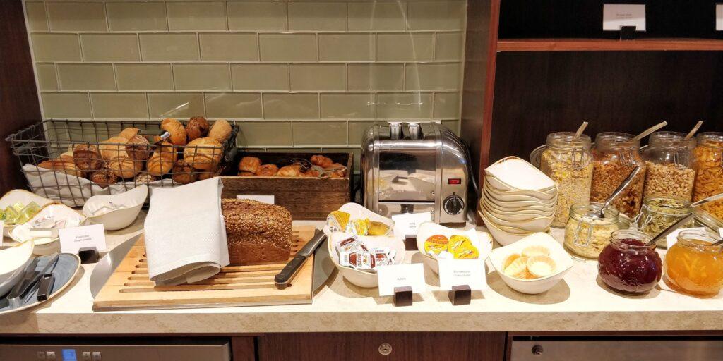 Hilton Frankfurt Lounge Frühstück 3