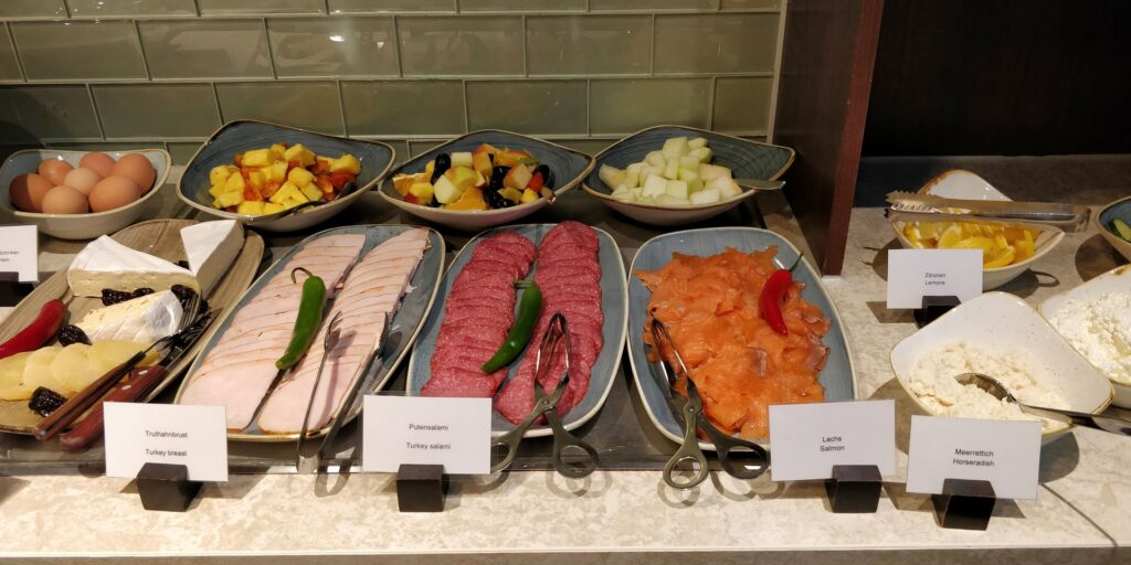 Hilton Frankfurt Lounge Frühstück 4