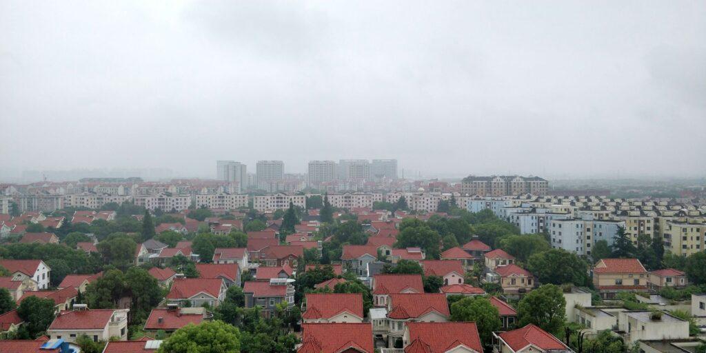 Hilton Garden Inn Shanghai Hongqiao Ausblick