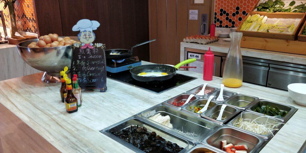 Hilton Garden Inn Shanghai Hongqiao Frühstück 7