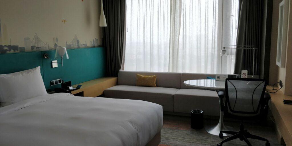 Hilton Garden Inn Shanghai Hongqiao Zimmer