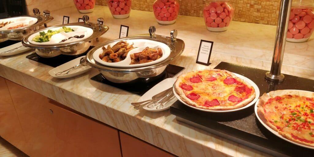 Hilton Guangzhou Baiyun Lounge Abendessen 4