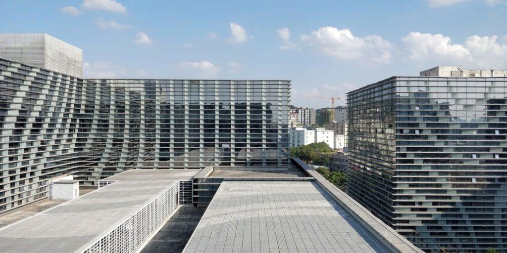 Hilton Guangzhou Baiyun Suite Ausblick
