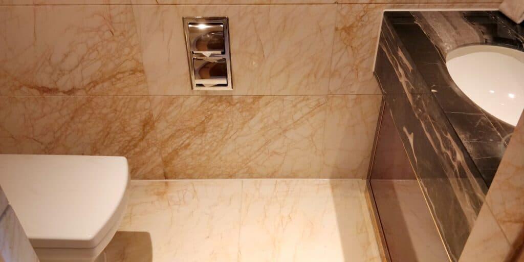 Hilton Guangzhou Baiyun Suite Gästetoilette