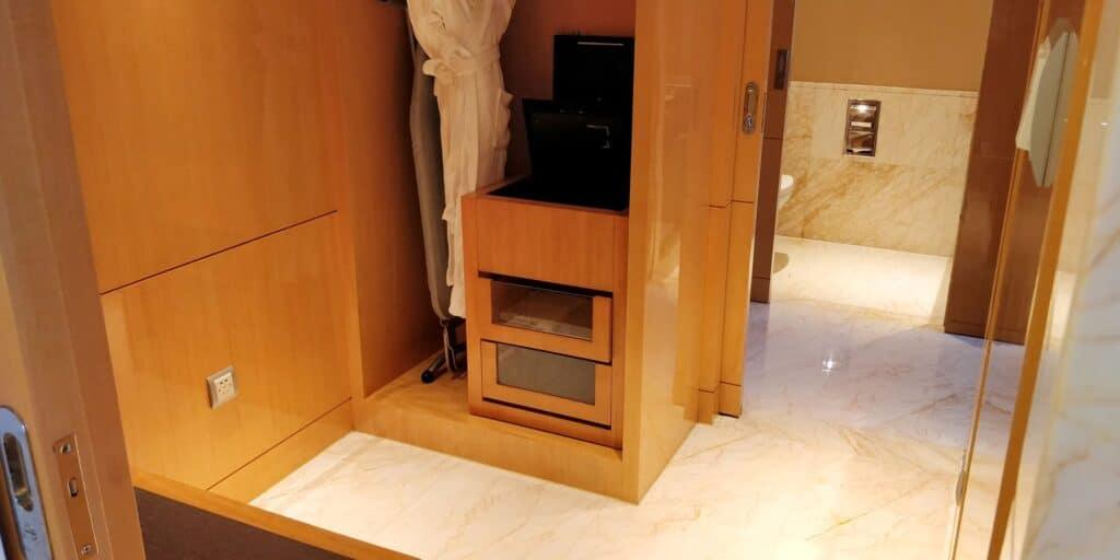 Hilton Guangzhou Baiyun Suite Garderobe