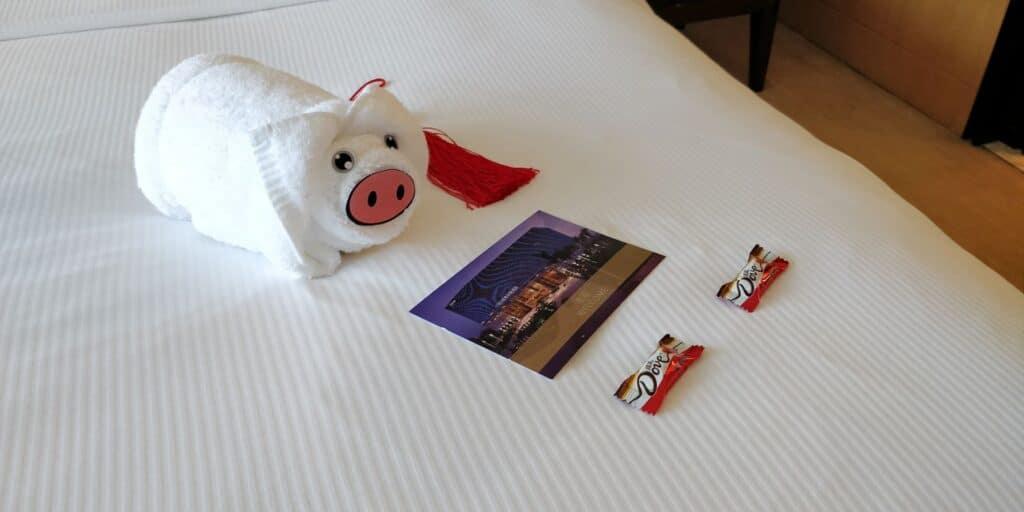 Hilton Guangzhou Baiyun Suite Handtücher