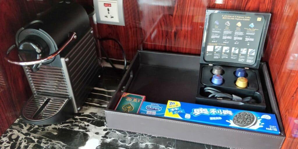 Hilton Guangzhou Baiyun Suite Kaffeemaschine