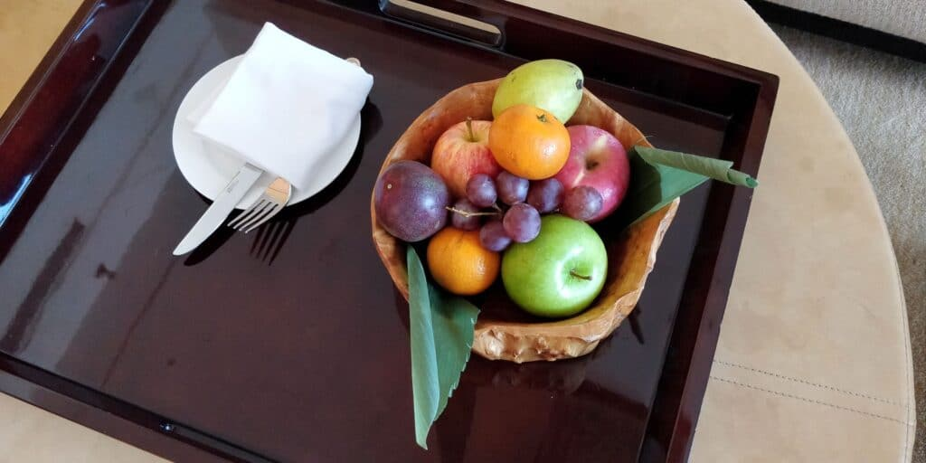 Hilton Guangzhou Baiyun Suite Obst