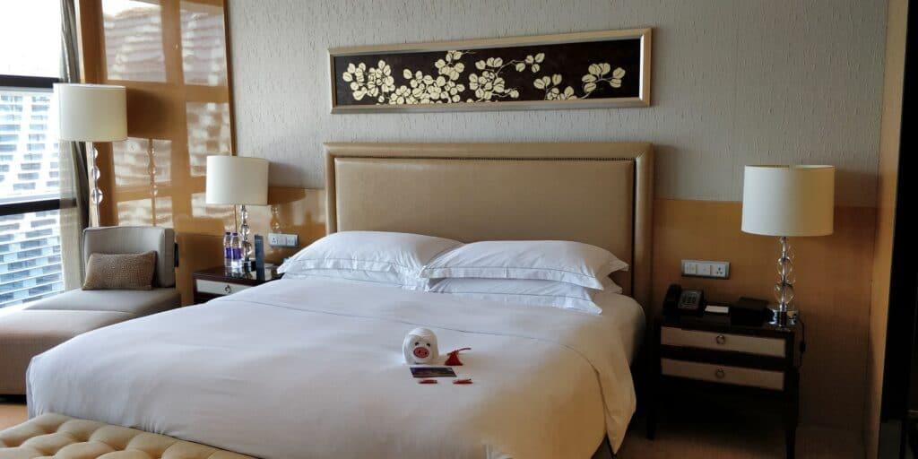 Hilton Guangzhou Baiyun Suite Schlafzimmer 2