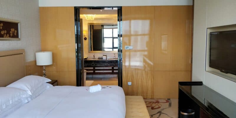 Hilton Guangzhou Baiyun Suite Schlafzimmer 6