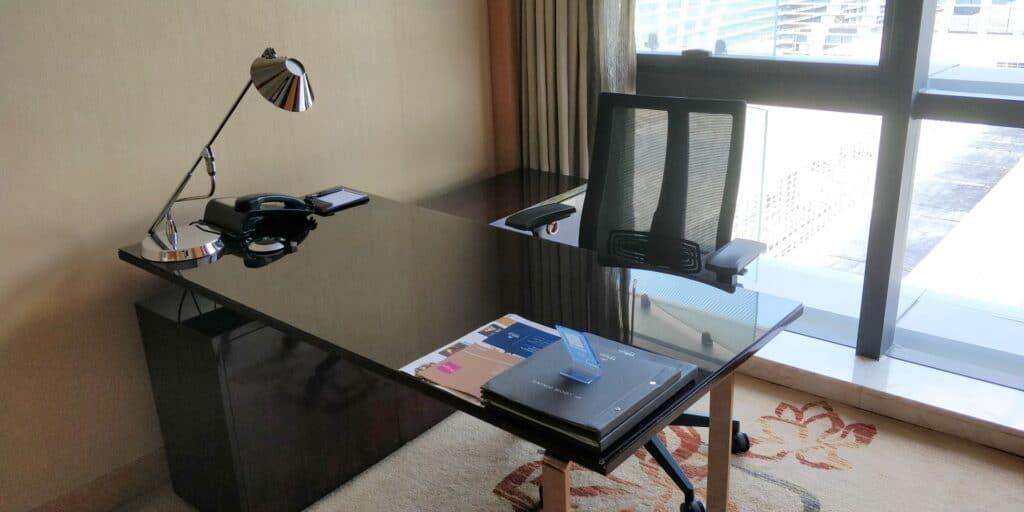 Hilton Guangzhou Baiyun Suite Wohnzimmer 3