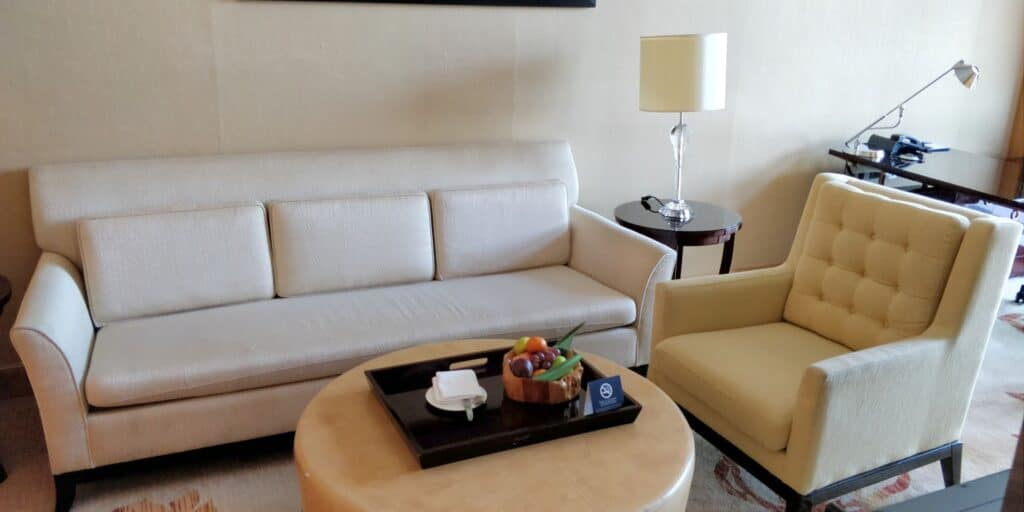 Hilton Guangzhou Baiyun Suite Wohnzimmer 4
