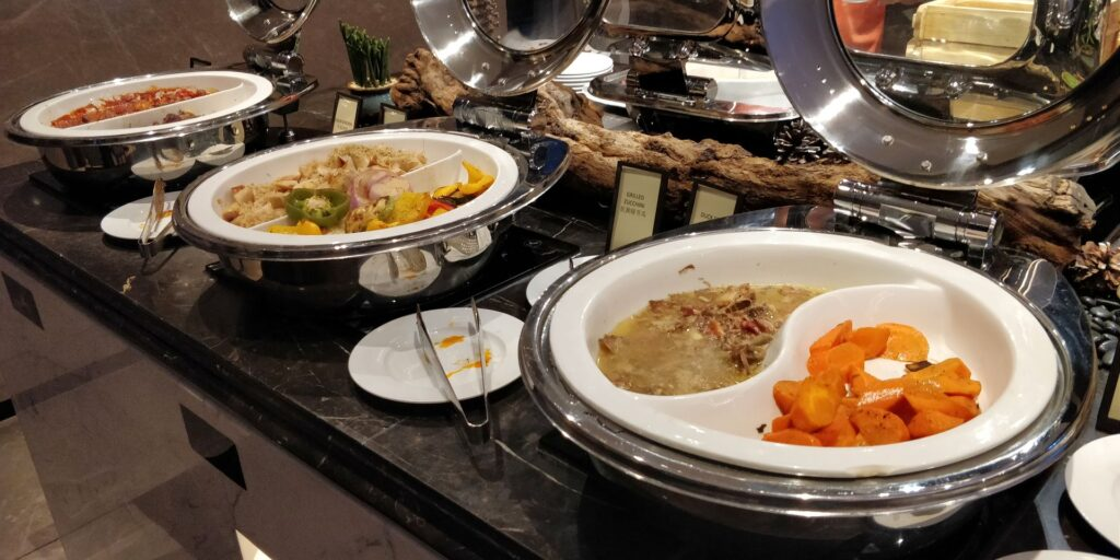 Hilton Hangzhou Xiaoshan Lounge Abendessen 2