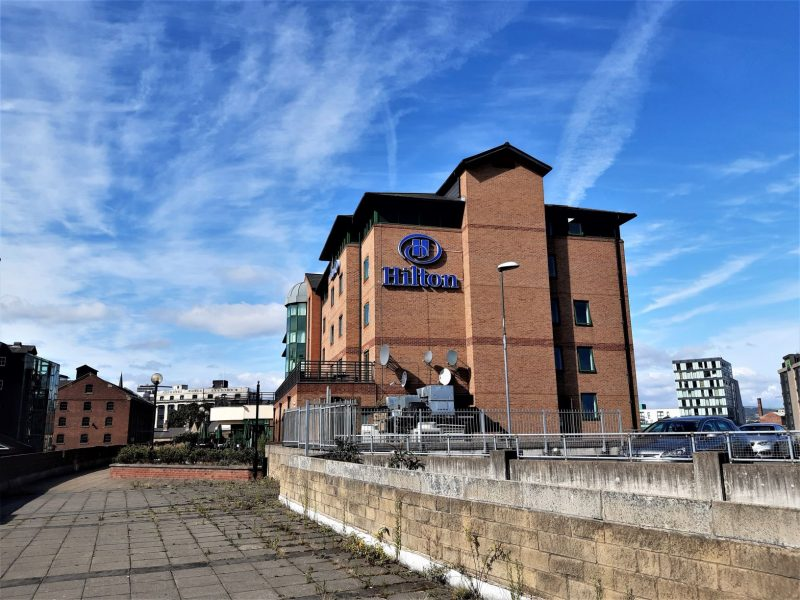 Hilton Sheffield Gebäude