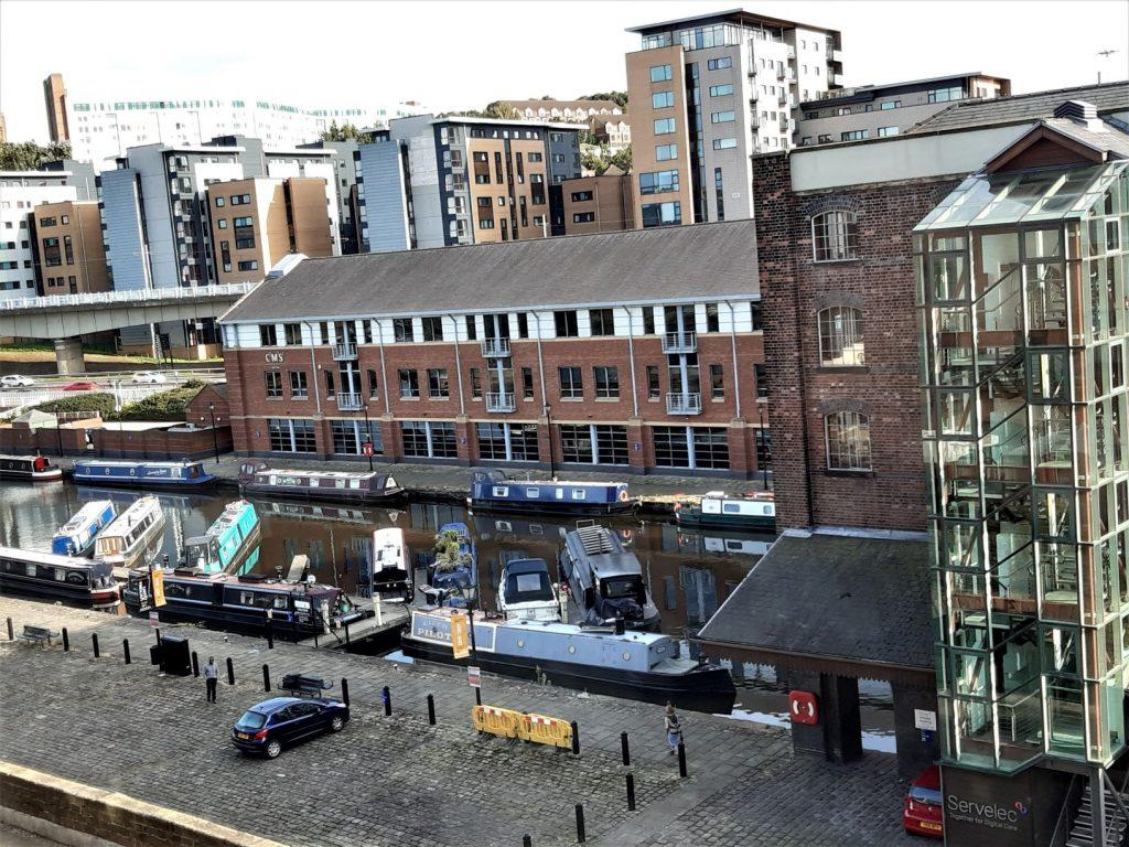 Hilton Sheffield Zimmer Ausblick
