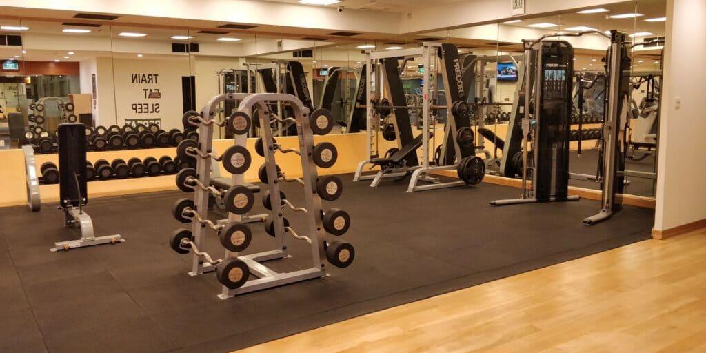 Hilton Singapur Fitness 3