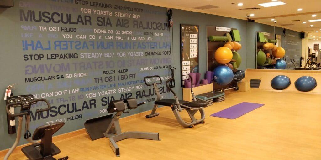 Hilton Singapur Fitness 4