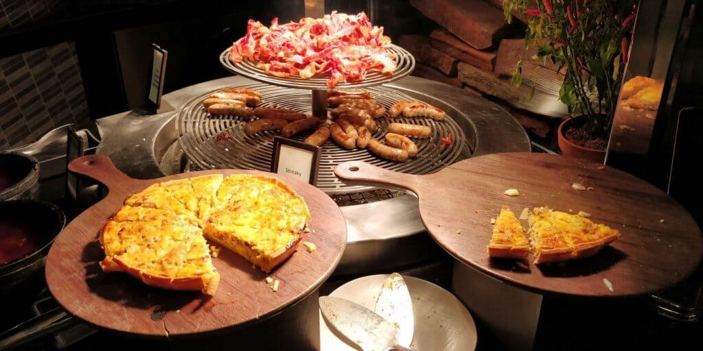 Hilton Singapur Frühstück 2