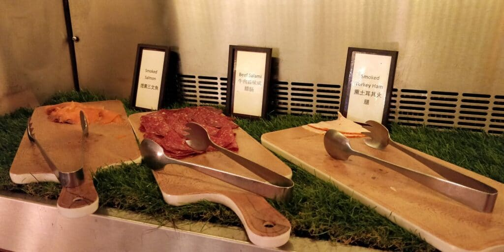 Hilton Singapur Frühstück 5