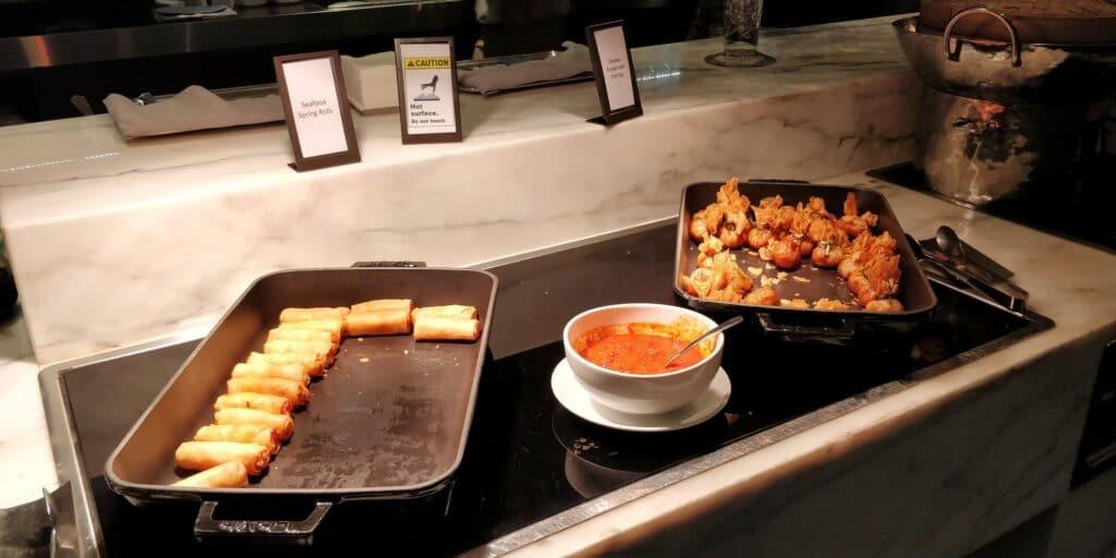 Hilton Singapur Lounge Abendessen