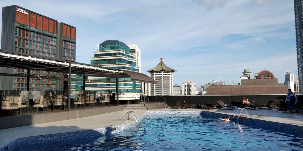 Hilton Singapur Pool