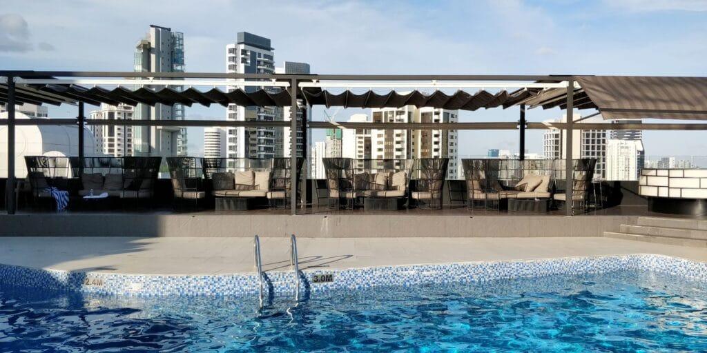 Hilton Singapur Pool 2