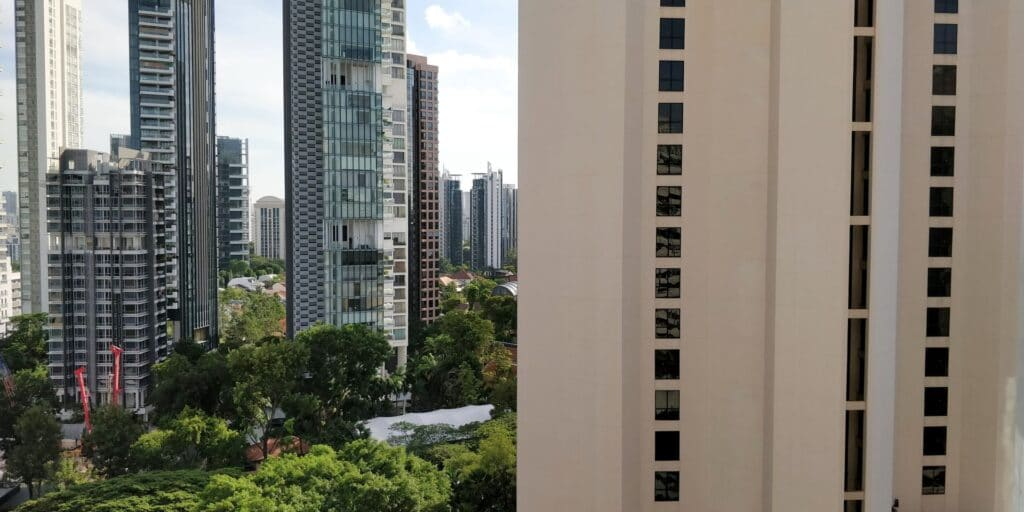 Hilton Singapur Zimmer Ausblick