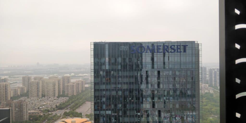 Hilton Suzhou Ausblick