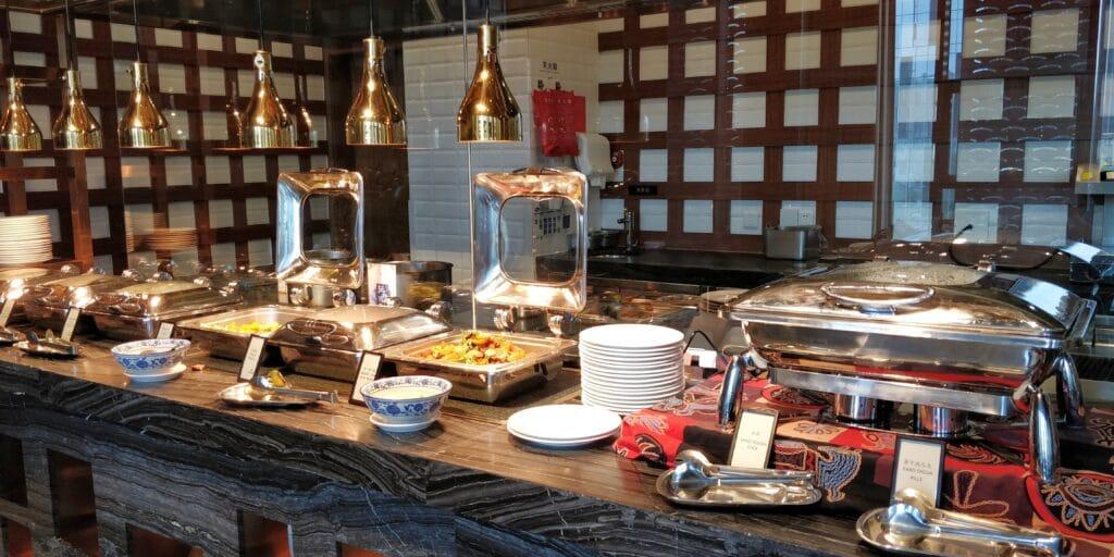 Hilton Suzhou Frühstück