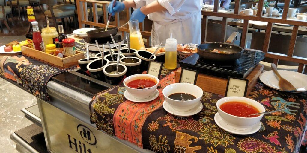 Hilton Suzhou Frühstück 2