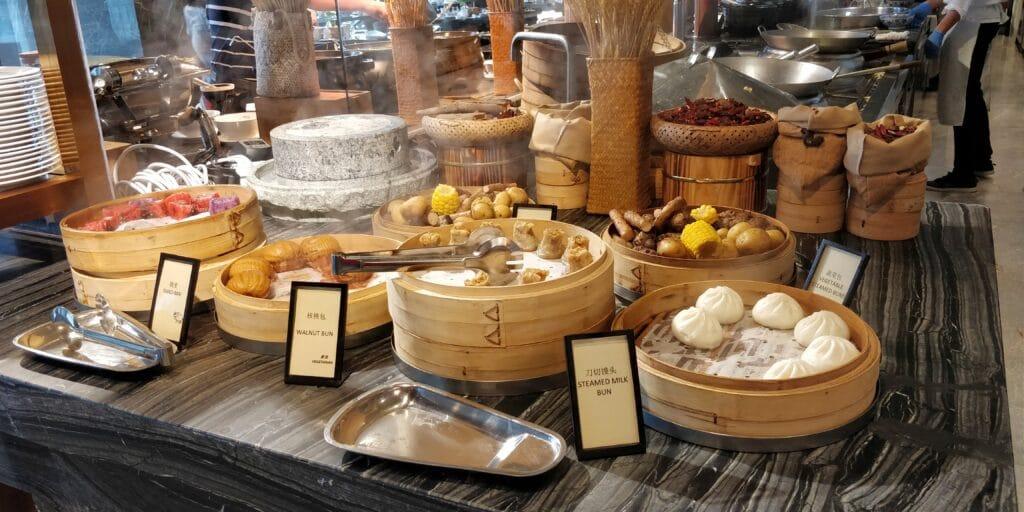 Hilton Suzhou Frühstück 3