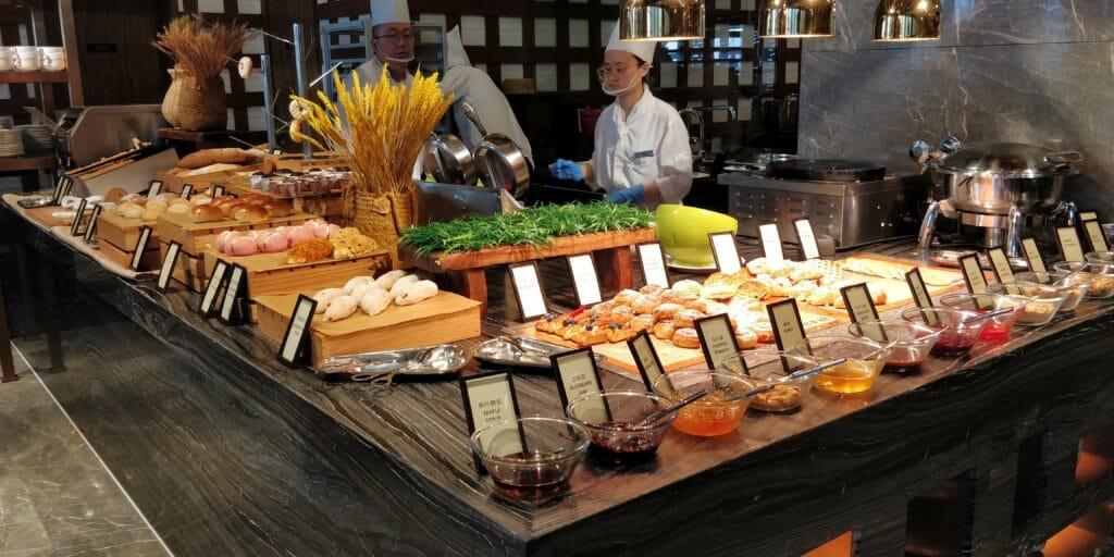 Hilton Suzhou Frühstück 5