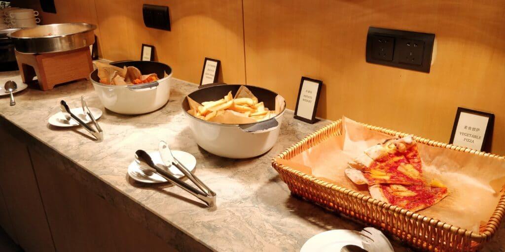 Hilton Suzhou Lounge Abendessen 2