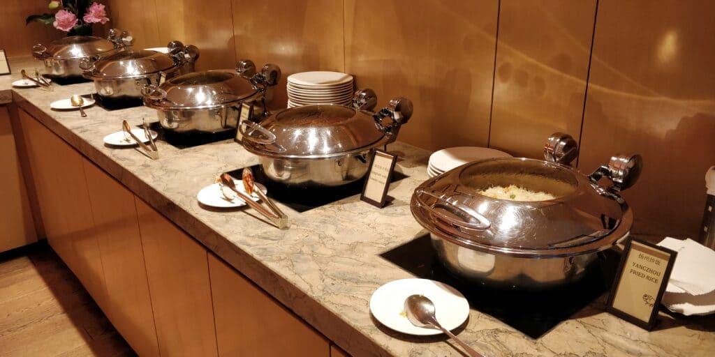 Hilton Suzhou Lounge Abendessen 3