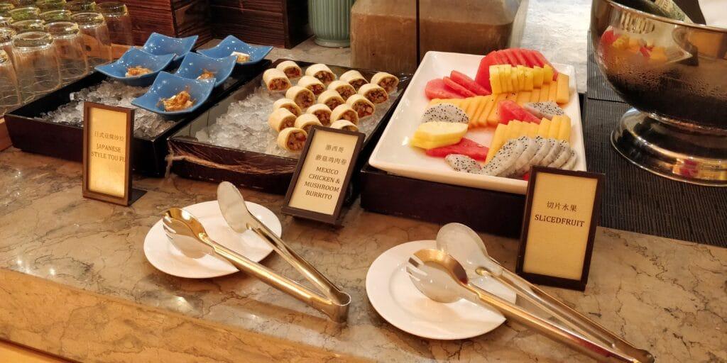 Hilton Suzhou Lounge Abendessen 4