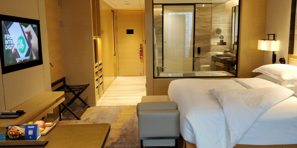 Hilton Suzhou Zimmer 5