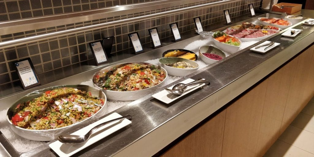 Hilton Sydney Lounge Abendessen