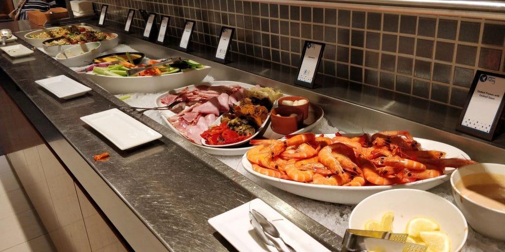 Hilton Sydney Lounge Abendessen 4
