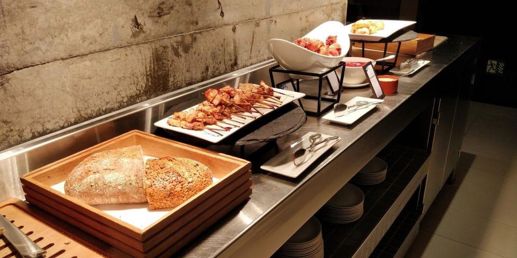 Hilton Sydney Lounge Abendessen 5