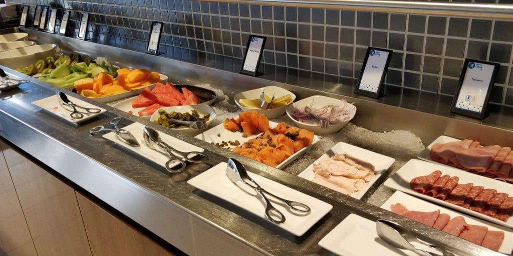 Hilton Sydney Lounge Frühstück 2