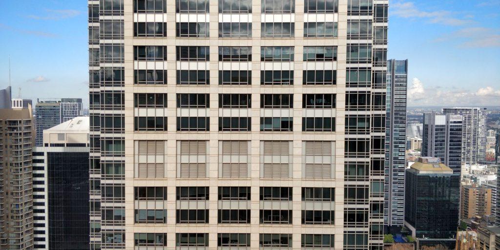 Hilton Sydney Zimmer Ausblick