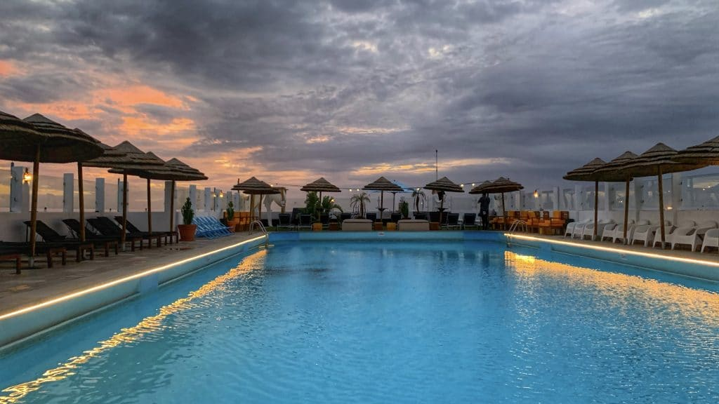 Hotel Eva Faro Pool 1