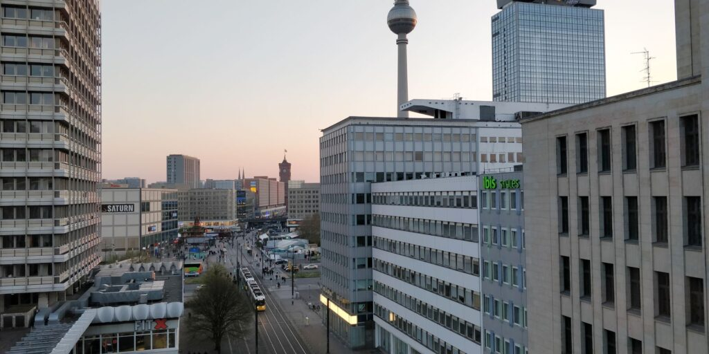 Hotel Indigo Berlin Alexanderplatz Ausblick