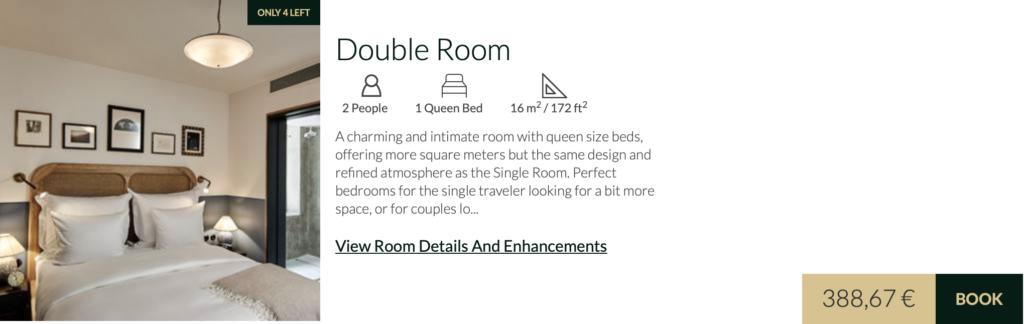 Hotel Sanders Double
