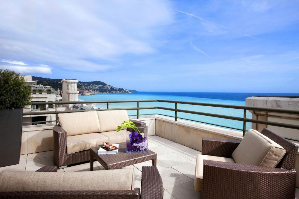 Hyatt Regency Nizza Balcony