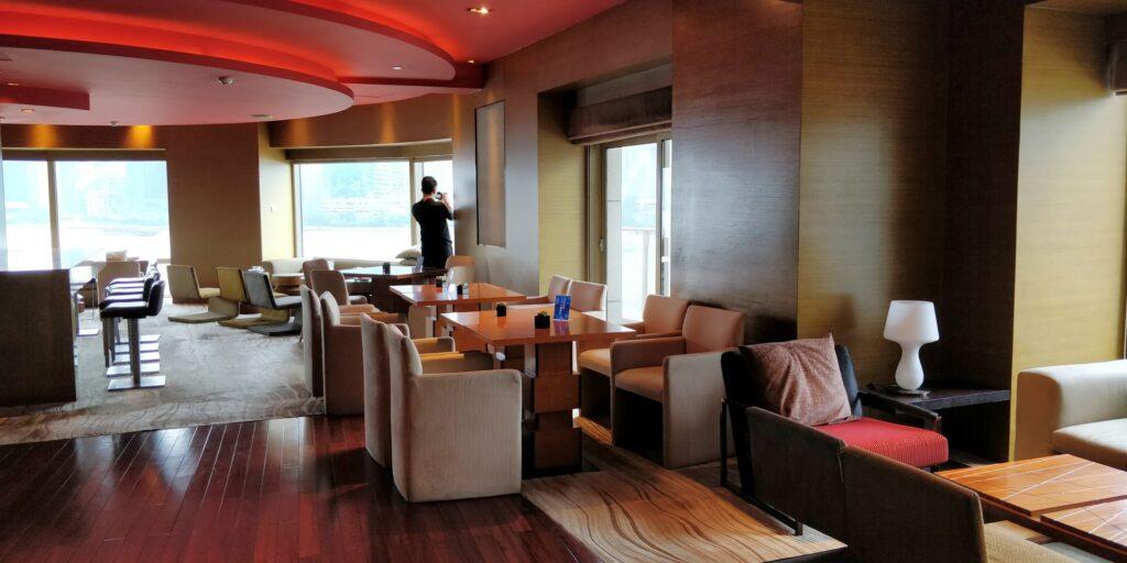 Hyatt On The Bund Shanghai Lounge