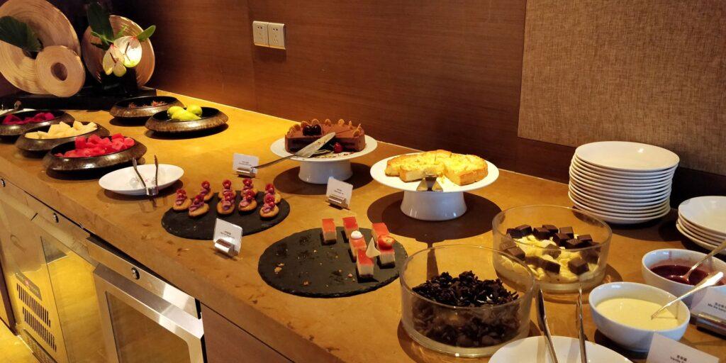 Hyatt On The Bund Shanghai Lounge Abendessen 2