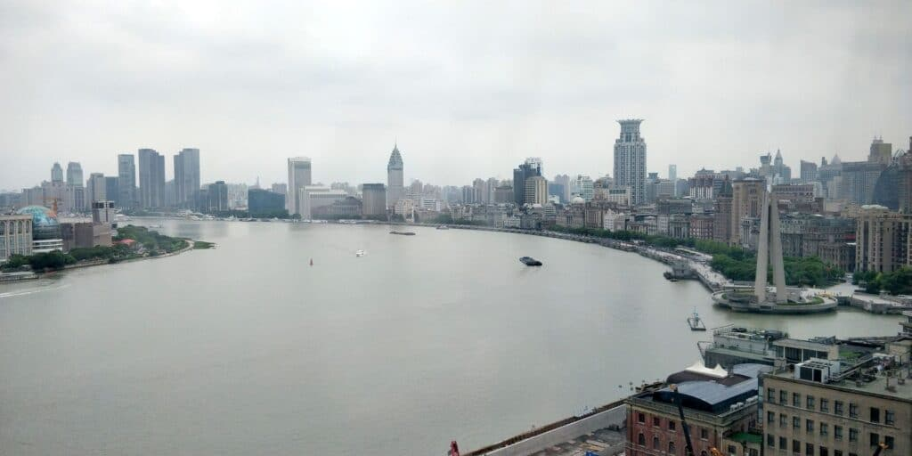 Hyatt On The Bund Shanghai Suite Ausblick