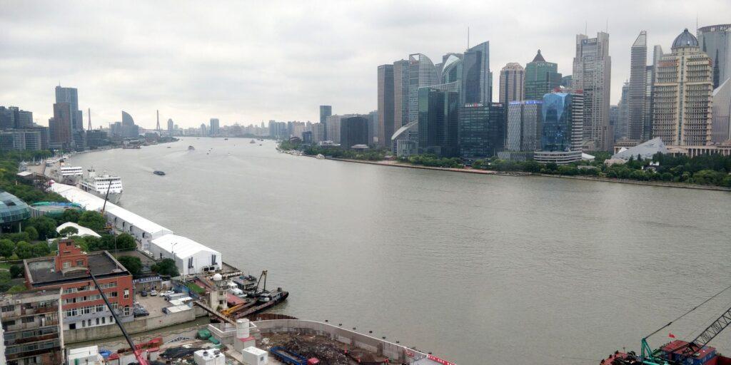 Hyatt On The Bund Shanghai Suite Ausblick 2