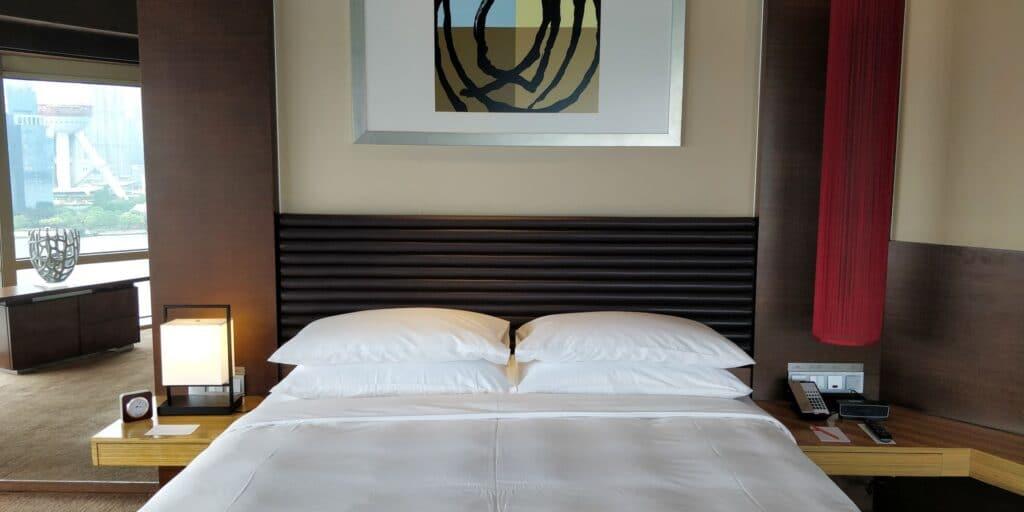 Hyatt On The Bund Shanghai Suite Schlafzimmer 3